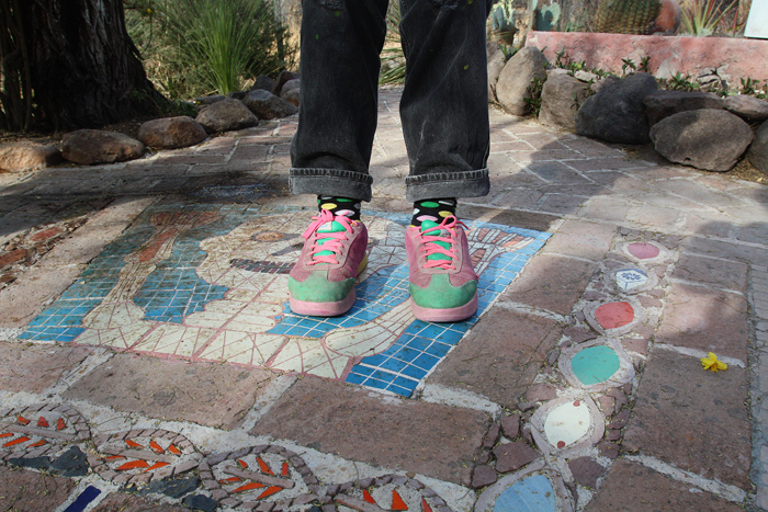 Anado's shoes, San Miguel de Allende