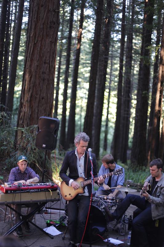 Sean Hayes playing at the UC Botanical Garden, Berkeley, CA