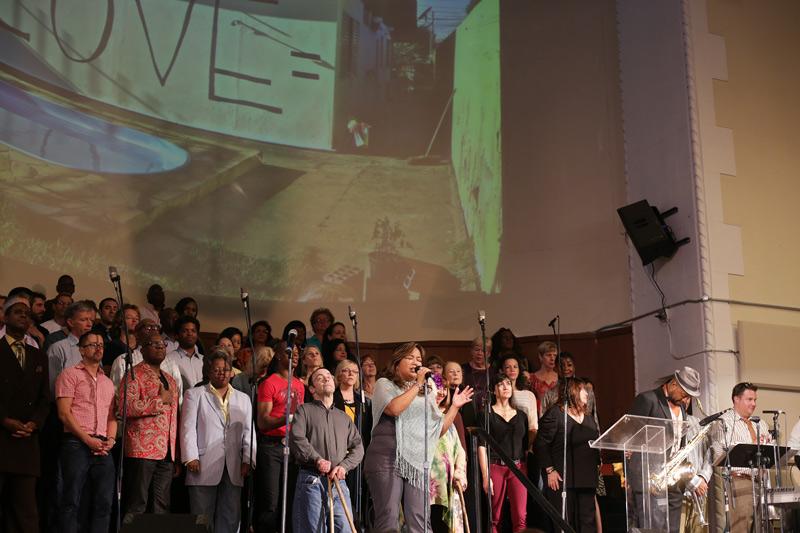 The Glide gospel choir, SF