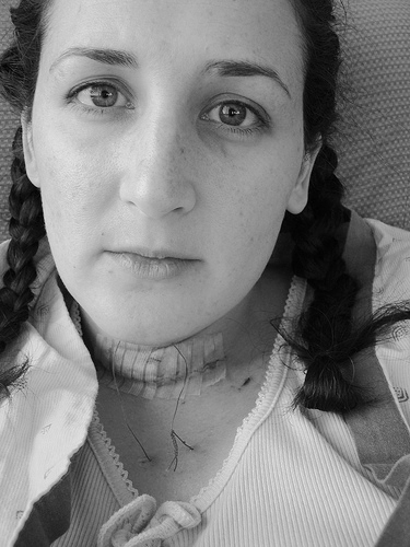 lacy chin stitch day 6